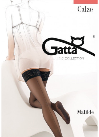 Sheer Back Seam Stockings with Cuban Heel - Matilde 00