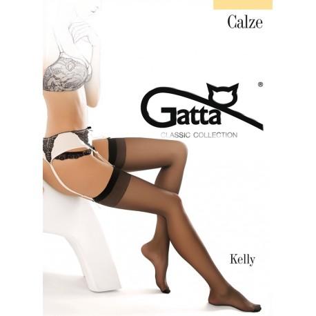Kelly w.00 - stretch garter stockings