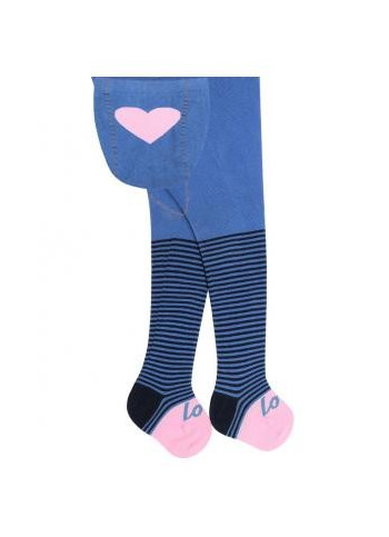 BABE w.626 – girls' printed cotton tights 0-2 years