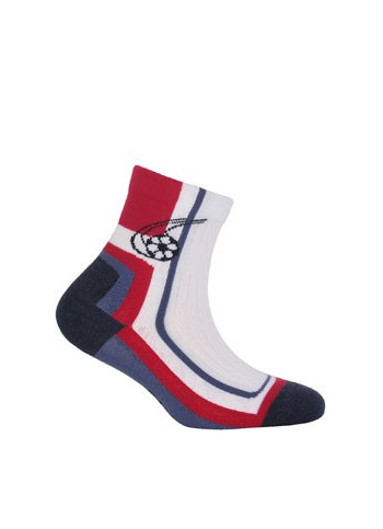 KIDDY w.880 – boys' patterned cotton socks, 2-6 years
