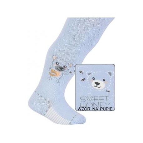 BABIES w.924 – children's patterned cotton tights 0-2 years