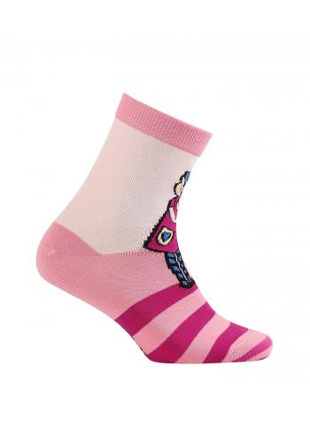 KIDS w.783 – girls' patterned cotton socks 2-6 years