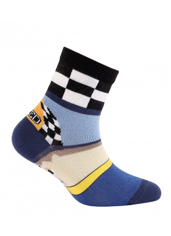 KIDS w.700 – boys' patterned cotton socks 2-6 years