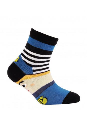 KIDS w.705 – boys' patterned cotton socks 2-6 years