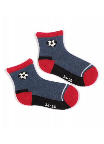 KIDS w.730 – boys' patterned cotton socks 2-6 years