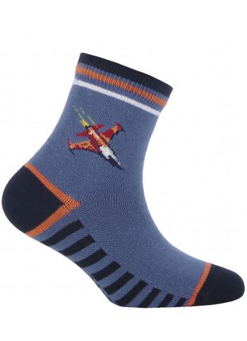 KIDS w.885 – boys' patterned cotton socks 2-6 years