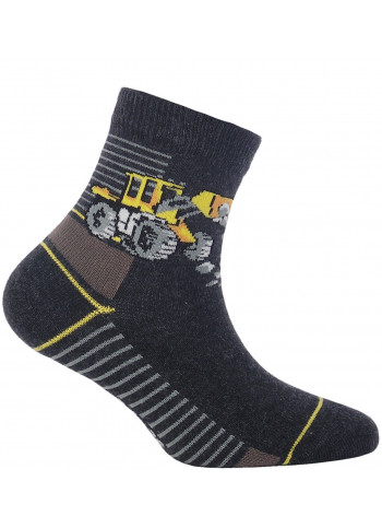 KIDS w.886 – boys' patterned cotton socks 2-6 years