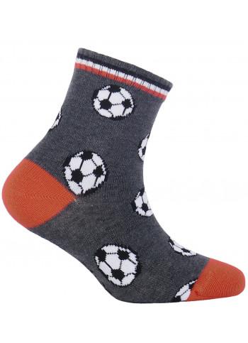 KIDS w.889 – boys' patterned cotton socks 2-6 years