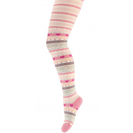 KIDS w.716 – children's patterned tights 2-6 years