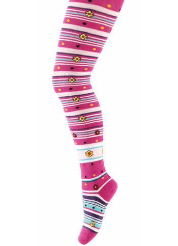 KIDS w.748 – children's patterned tights 2-6 years