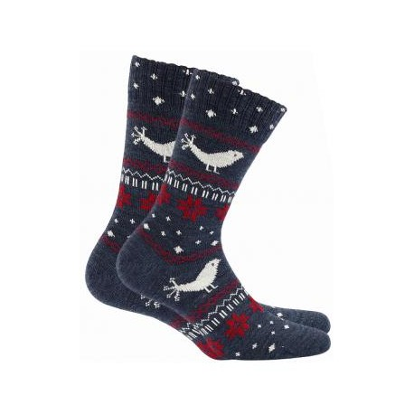 Women's woolen socks w.995