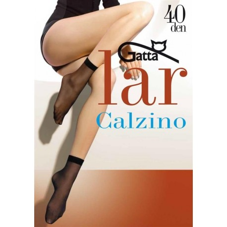 Semi Sheer Ankle Socks - 2 pack - LAR Calzino 40 den