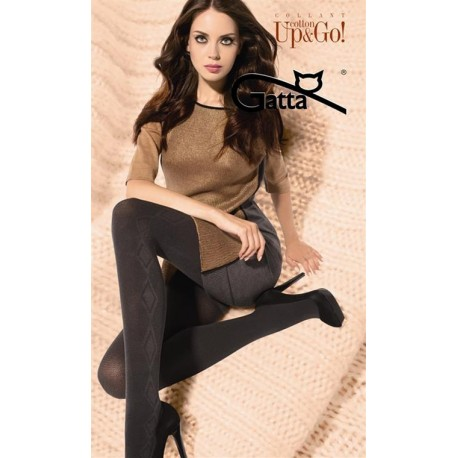 UP&GO! w.02 – women's patterned tights