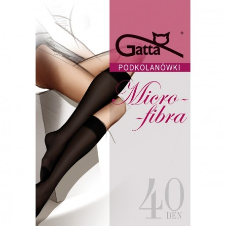 MICROFIBRA w.00 – women's microfiber knee socks 40 DENIER
