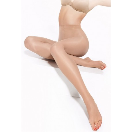 Ultra Sheer Toeless Tights - 10 den - SENZA DITA