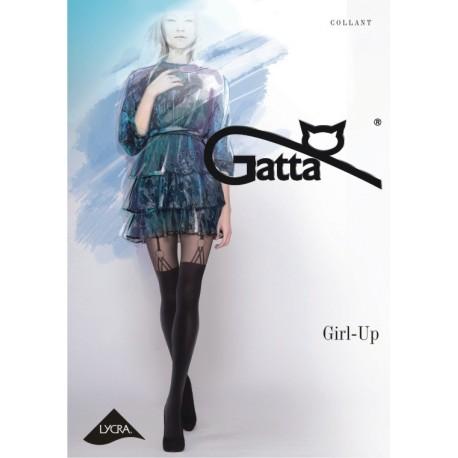 Girl-up w.26 - rajstopy wzorzyste