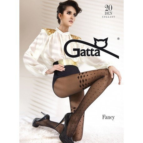 FANCY w.03 - Women's 20 DENIER patterned tights