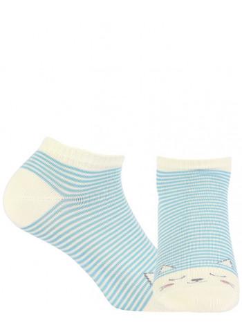 YOUNG - stopki wzorzyste bawełniane