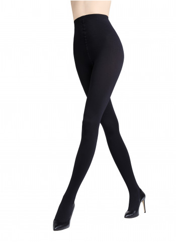 Ultra Opaque Tights with Soft Fleece Lining - 300 den - ROSALIA 300