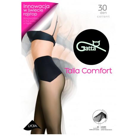 Sheer Tights with Seamless Comfort Top - 30 den - TALIA COMFORT