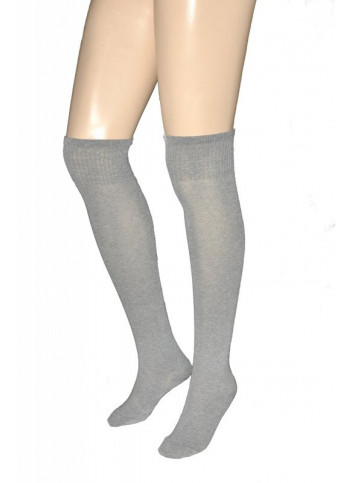 Cotton-Blend Over-the-Knee Socks - PARIGINA COTTON