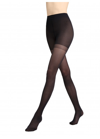 Semi Sheer Graduated Support Tights (3-6mmHg) - Control Top - 40 den - BODY RELAXMEDICA 40