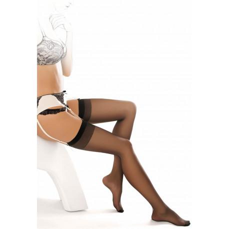 Classic Thigh High Stockings for Garter Belt - 2 pk - Kelly 00
