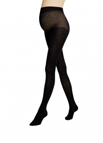 Cotton-blend Maternity Sweater Tights - BODY PROTECT COTTON