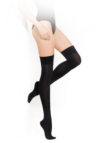 Opaque Over-the-Knee Socks - PARIGINA 100 denier