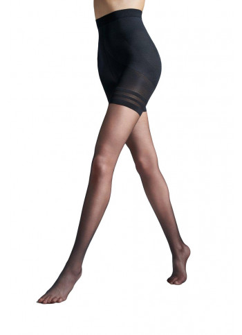 Ultra Sheer Shaping Tights with LYCRA® FUSION™ - 10 den - BODY TOTAL SLIM FUSION