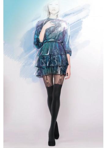 Mock Suspender Tights - GIRL-UP 26