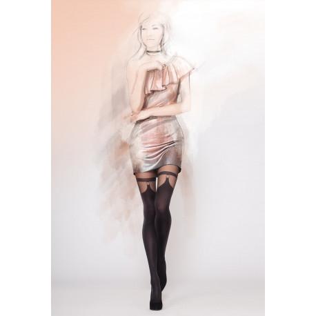 Mock Suspender Tights - GIRL-UP 28