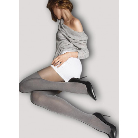 Grey Mock Over-the-Knee Tights - TANCIA 11