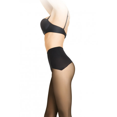 Sheer Tights with Seamless Comfort Top - 30 den - TALIA COMFORT