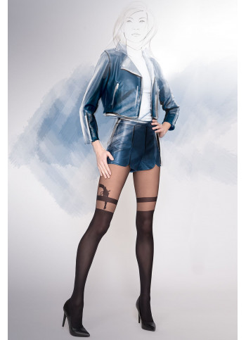 Mock Over-the-Knee Tights - GIRL-UP 31